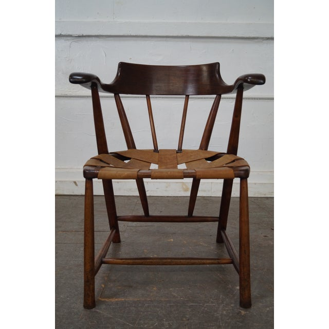 Wharton esherick captains arm chair chairish