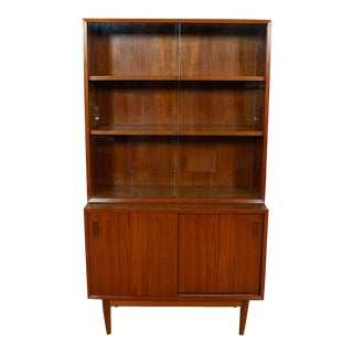 Danish Modern Bornholm Teak Storage & Display Cabinet