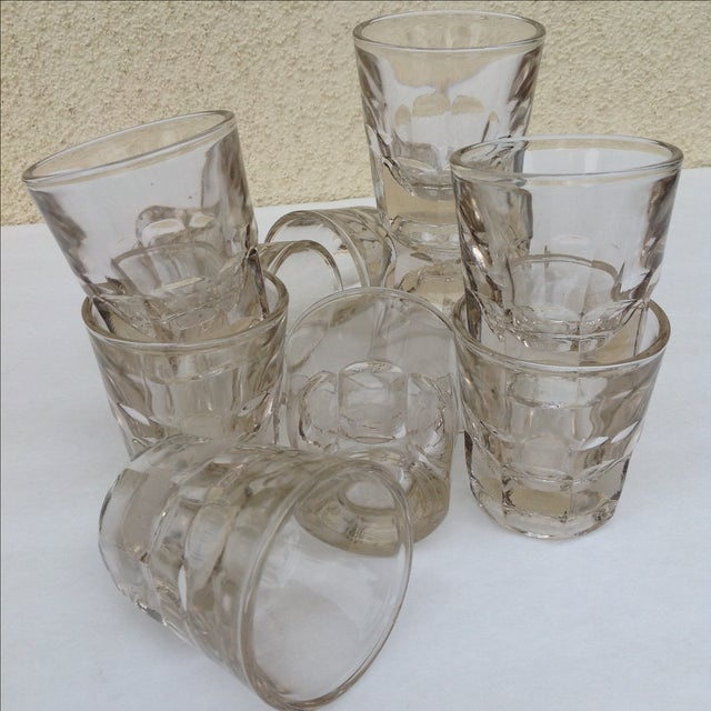 Vintage Rocks Glasses - Set of 10 - Image 8 of 11