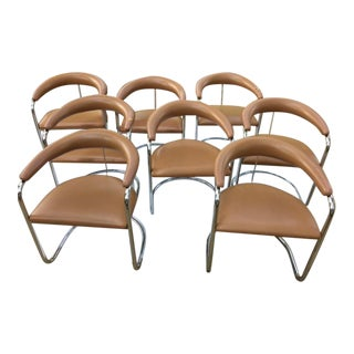 Anton Lorenz for Thonet Dining Chairs - Set of 8