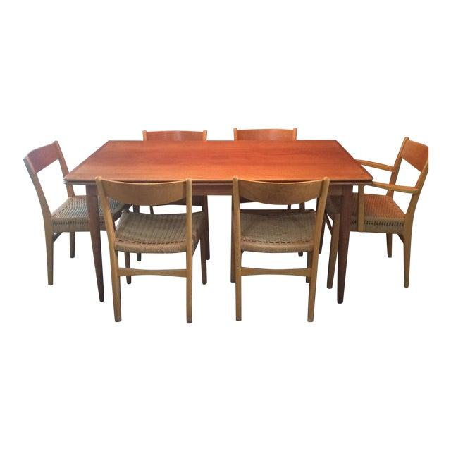 Danish Modern Dining Set - Image 1 of 11