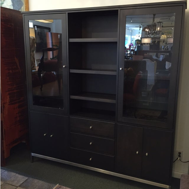 Room & Board Linear Charcoal Custom Cabinetry - Image 3 of 9