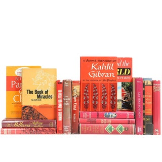 Cranberry Dustjacket Mix - Set of 15