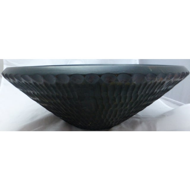 Image of Vintage African Senufo Wood Bowl