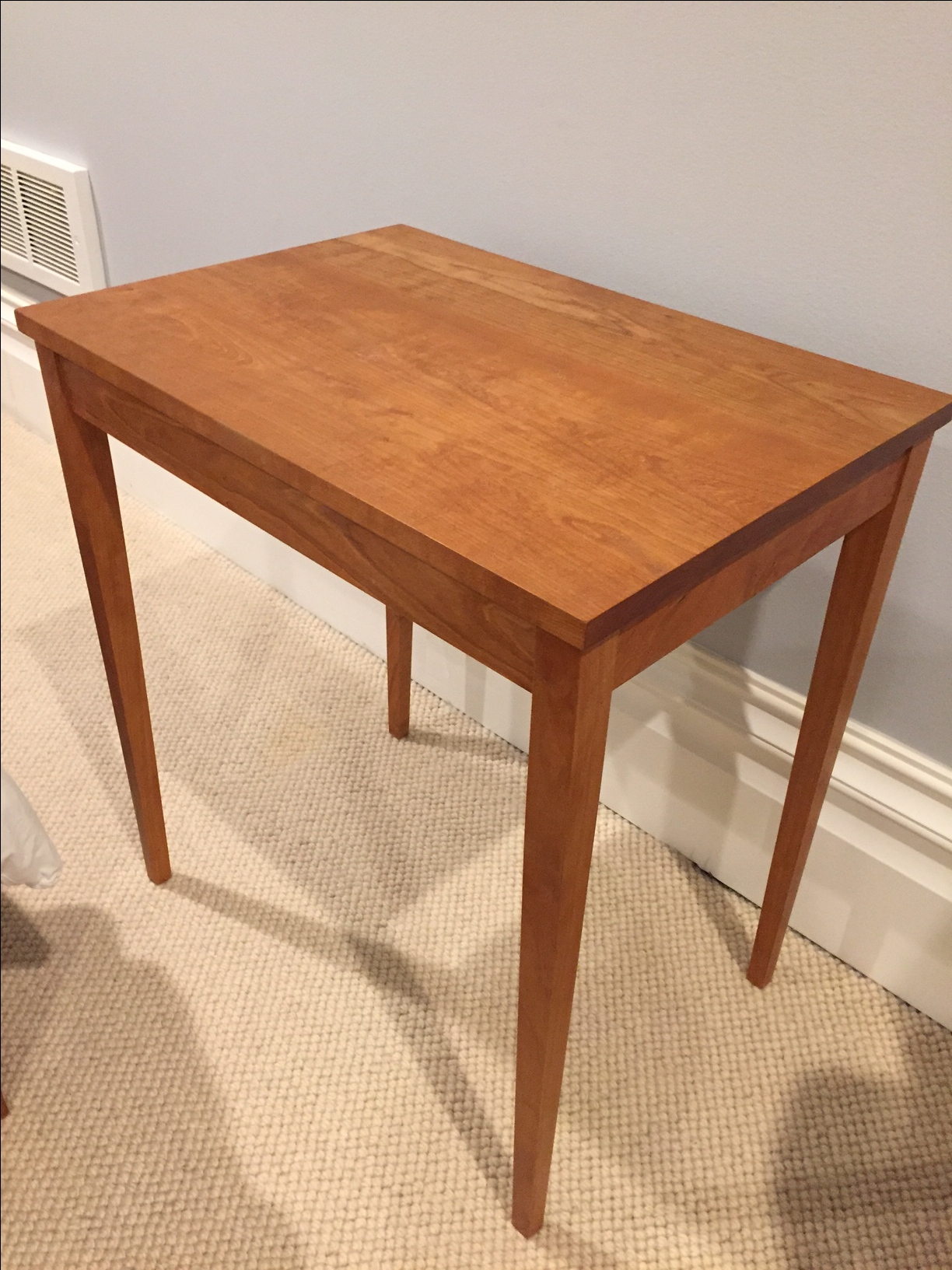 Awesome Thos Moser Rectangular Table, Minimus In Cherry   Image 2 Of 3