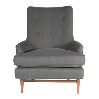 Whitby Walnut Base Lounge Chair