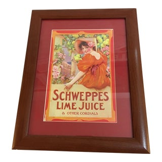 Vintage Schweppes Advertising Reproduction
