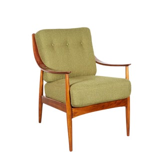 Danish Teak Armchair by Hvidt & Molgaard