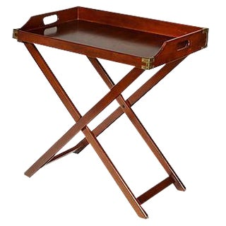1970s Mahogany Butler's Table
