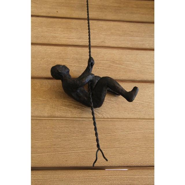 Global Views Wall Diver: Climbing Man Wall Sculpture