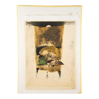 """Johnny Friedlaender """"The Hours Morning"""" Lithograph"""