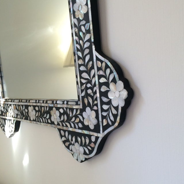 Mother of Pearl Inlay Mirror - Image 5 of 5