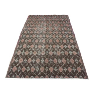 Handmade Turkish Floor Rug - 4′11″ × 8′3″