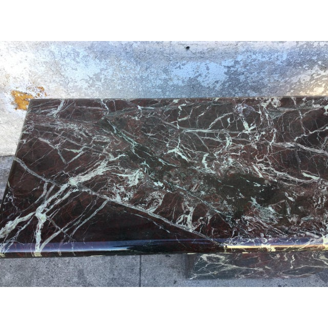 Marble Entryway Console Table - Image 3 of 6