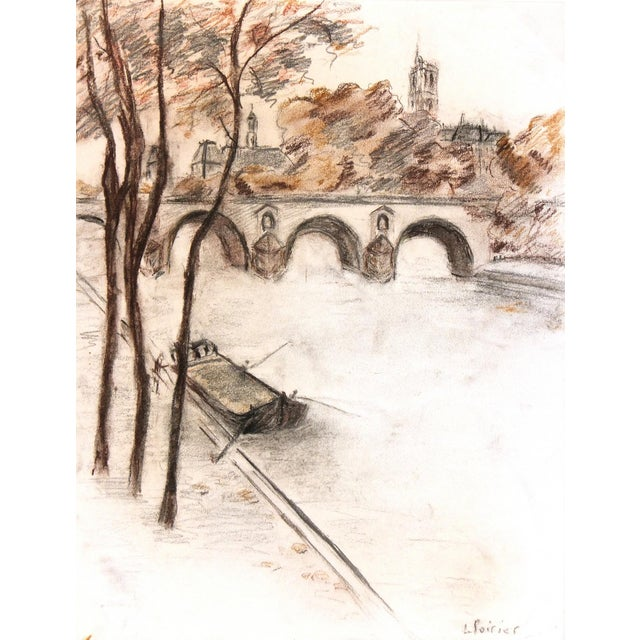 Vintage Paris Artwork - Image 1 of 3