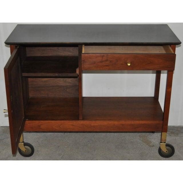 Mid-Century Modern Paul McCobb Bar Cart - Image 3 of 5