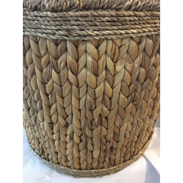 Woven Hyacinth Storage Basket - Image 3 of 4