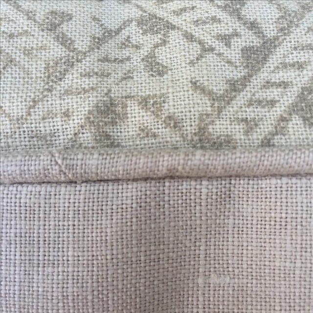 Image of Rose Tarlow Printed Linen Pillows - A Pair
