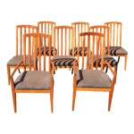 Image of Harden Furniture Dighton Cherry Chairs - Set of 8