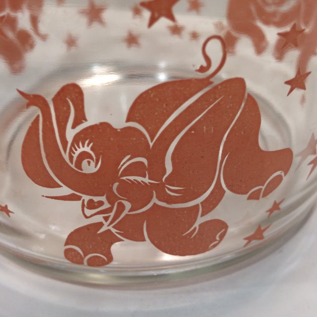 Vintage Hazel-Atlas Glass Pink Elephant Ice Bucket & Tongs - Image 8 of 11