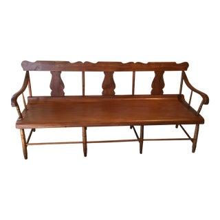 Antique 19th Century Deacon's Bench