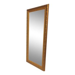 Gilded Floor Length Mirror