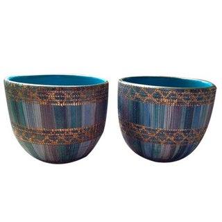 Bitossi Sgraffito Bowls - A Pair