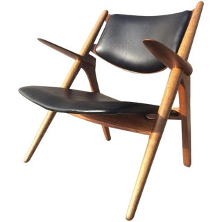 Hans Wegner Model CH28 Sawbuck Chair