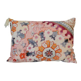 Risa Patterned Cotton Pillow
