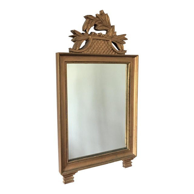 Vintage Gold Wall Mirror - Image 1 of 7