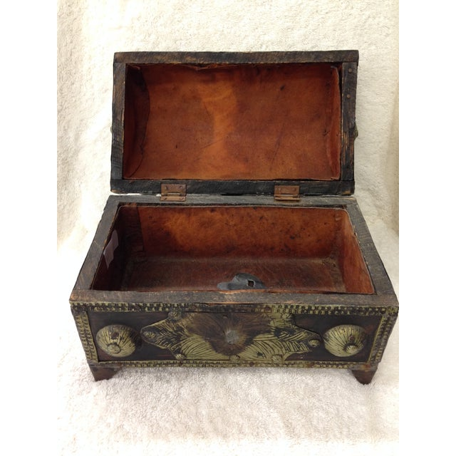 Cot In A Box Morocco Turquoise: Moroccan Vanity Chest With Amber & Turquoise