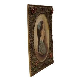 19th Century French Terracotta Plaque C. 1860