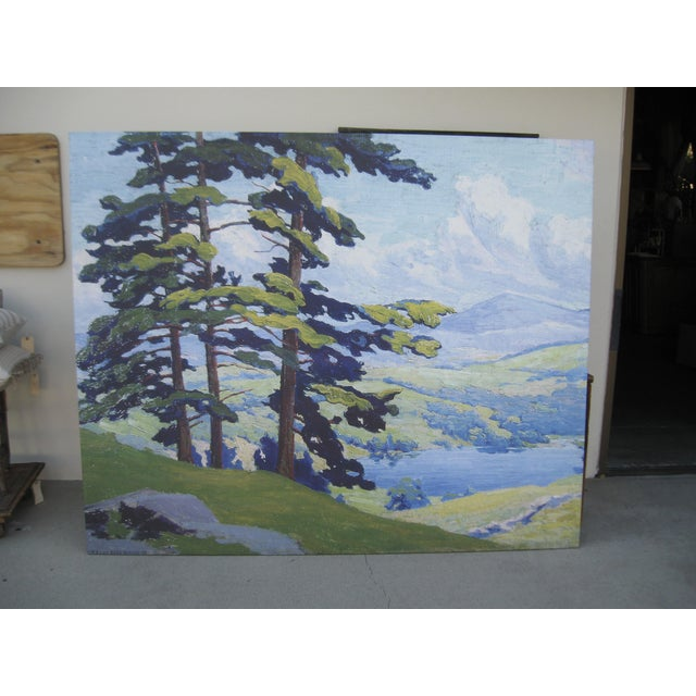 Image of California Hills Canvas On Wood Frame