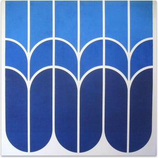 "Vintage 1970s Large-Scale Graphic Art ""Tulip"""