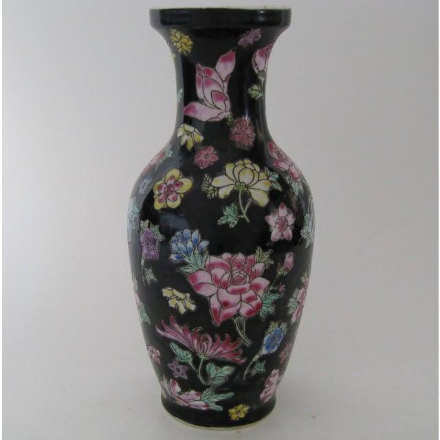 Vintage 1970s Chinese Porcelain Vase - Image 3 of 6