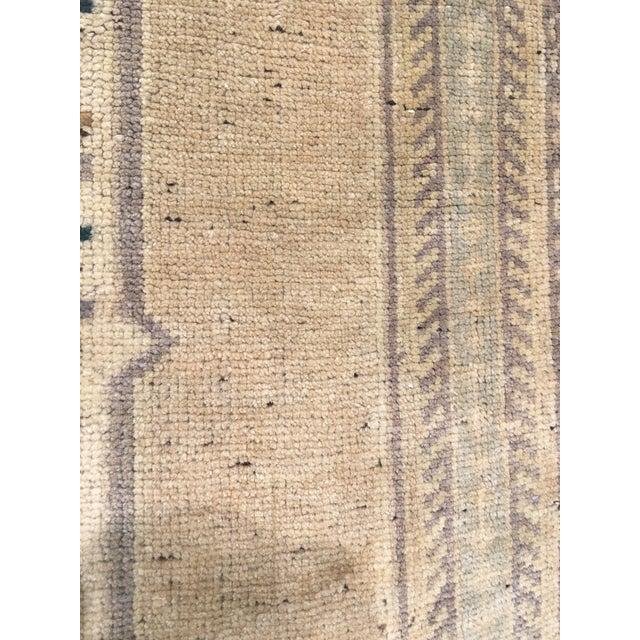 "Vintage Bellwether Rugs Turkish Oushak Rug - 5'6""x9'11"" - Image 9 of 9"