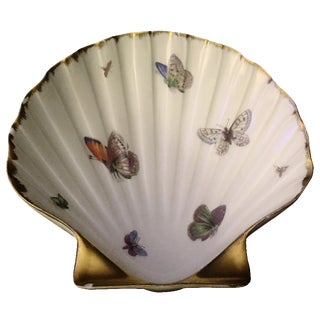 Limoges 24k Gold Butterfly Dish