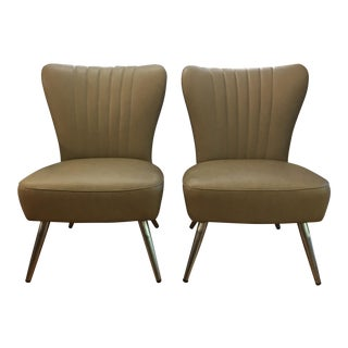 Retro Style Side Chairs - A Pair