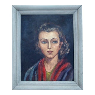 Oil Portrait of a Young Woman, 1940