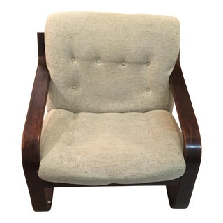 Westnofa Bent Rosewood Lounge Chair