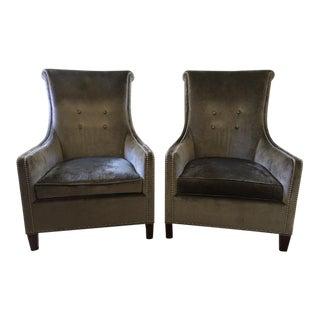 """Stickley """"Ritz"""" Chairs - a Pair"""