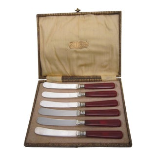 Vintage Appetizer Knives - Set of 6