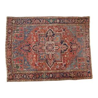 """Antique Hertz Carpet - 7'8"""" x 10'"""