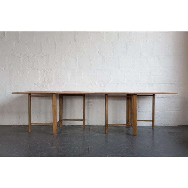 Image of Bruno Mathsson Expandable Dining Table