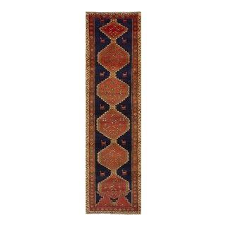 "Vintage Ardabil Persian Rug - 2'10"" x 12'1"""
