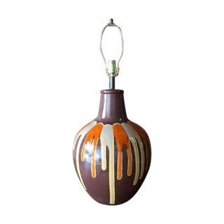 Vintage Drip Glaze Table Lamp