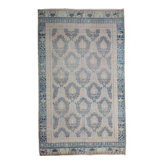 Hand Knotted Fine Oushak Rug - 6′9″ × 10′1″