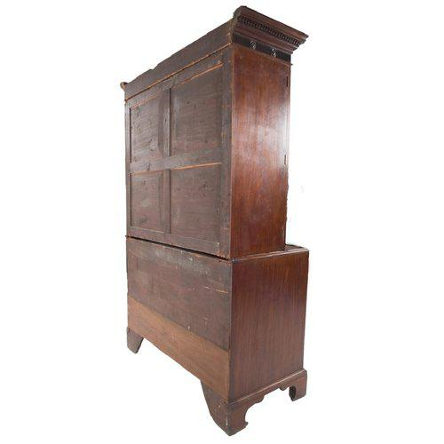 18th Century George III Period Linen Press - Image 7 of 8