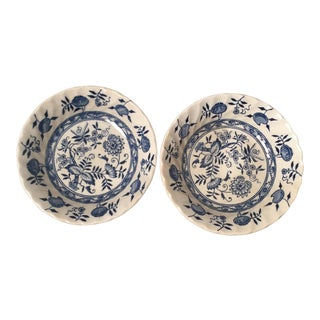 Wood & Sons Old Vienna Bowls - A Pair