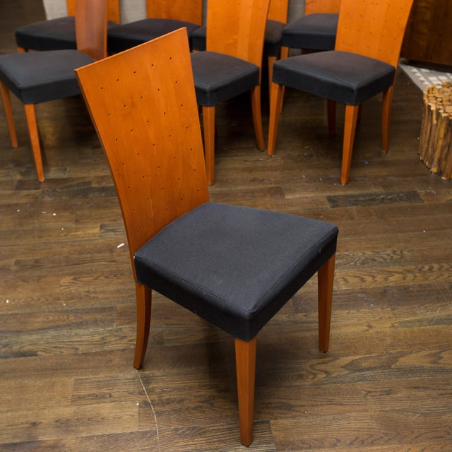 Image of Italian Modern Calligaris Dining Chairs - Set of 8